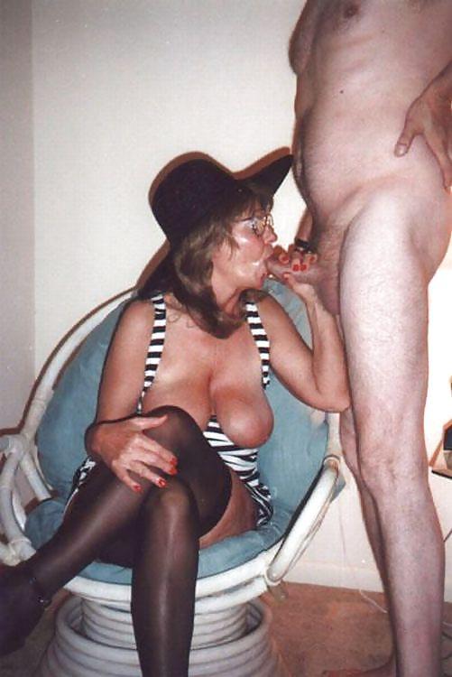 Lick wife clean of my cum